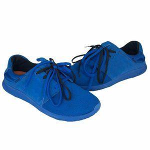 Cushe Mellow Mens Getaway Sneakers Blue Low Top